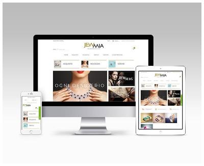 JEWMIA Realizzazione sito web