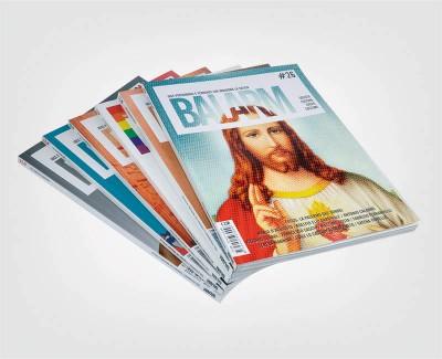 BALARM MAGAZINE Progettazione e realizzazione magazine
