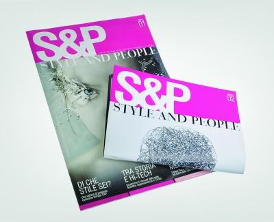 STYLE&PEOPLE Progettazione e realizzazione magazine Style&People