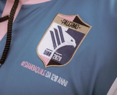 PALERMO CALCIO SSD Logo e maglia per il 120° anniversario del Palermo